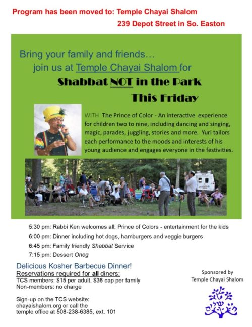 Not5780Shabbat in the Park flyer